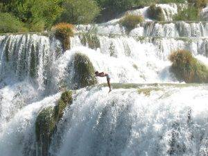 Krka Waterfalls and Medieval Sibenik Private Tour