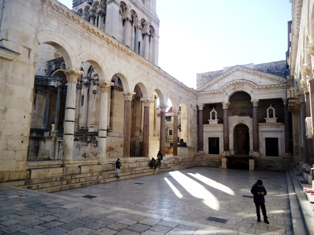 Roman imperial palace of the emperor Diocletian