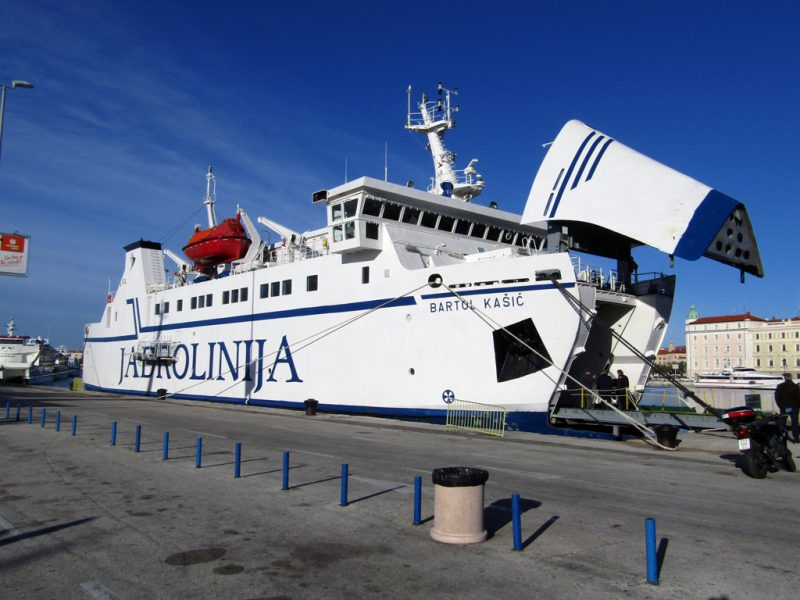 Jadrolinija ferries connect Split to many islands in the Adriatic