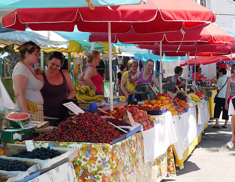 Pazar is a very vibrant farmer's market in Split. Split Croatia Travel Guide definitely had to include this place.