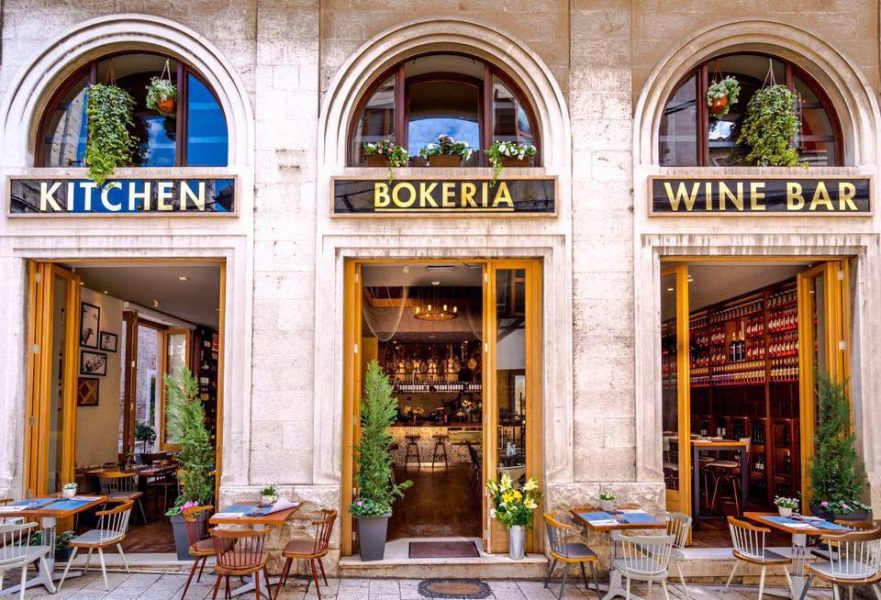 Split Croatia Travel Guide highlighted Bokeria as a top restaurant in Split.