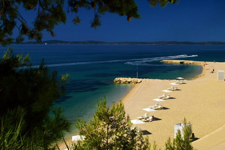 Znjan beach in Split definitely deserves to be mentioned on Split Croatia Travel Guide.